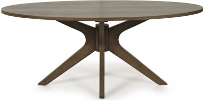 Clearance Half Price - Serene Waltham Walnut Coffee Table - New - 3043