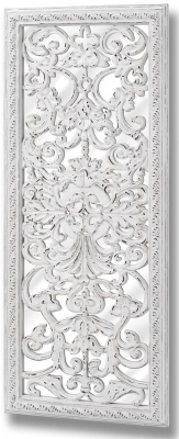 Clearance Half Price - Baroque Mirror with Ornate Front Detail - 60cm x 145cm - New - 1361
