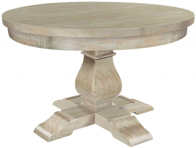 Clearance - Rowico Bowood Day Round Dining Table - New - C-54