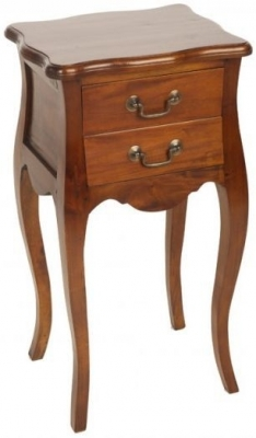 Clearance - Ancient Mariner Mahogany Village French Side Table - New - FS862