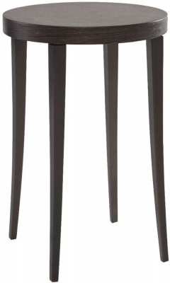 Clearance - Kilburn Charcoal Round Plant Stand - New - FS766