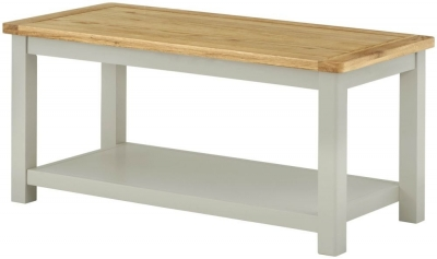 Clearance - Portland Stone Painted Coffee Table - New - E-244