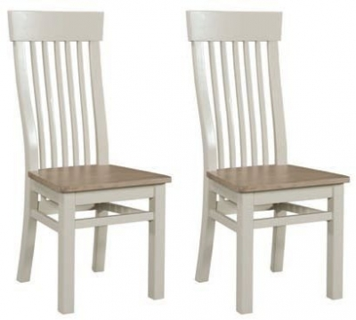 Clearance - Treviso Painted Dining Chair (Pair) - New - E-62