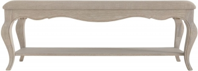 Clearance - Camille Weathered Oak Bench - New - FS1146