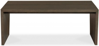 Bentley Designs City Weathered Oak Coffee Table - Panel - CL-3051