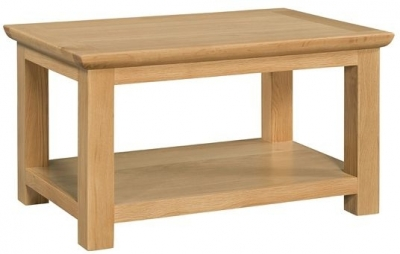 Clearance Devonshire Siena Oak Coffee Table - Standard - A178