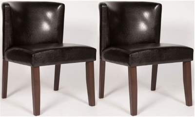 Nevada Walnut Dining Chair (Pair) - CL-A190