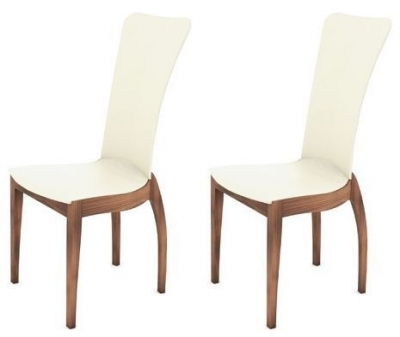 Clearance Tom Schneider Sasha Cherry Blush Dining Chair (Pair)   W105