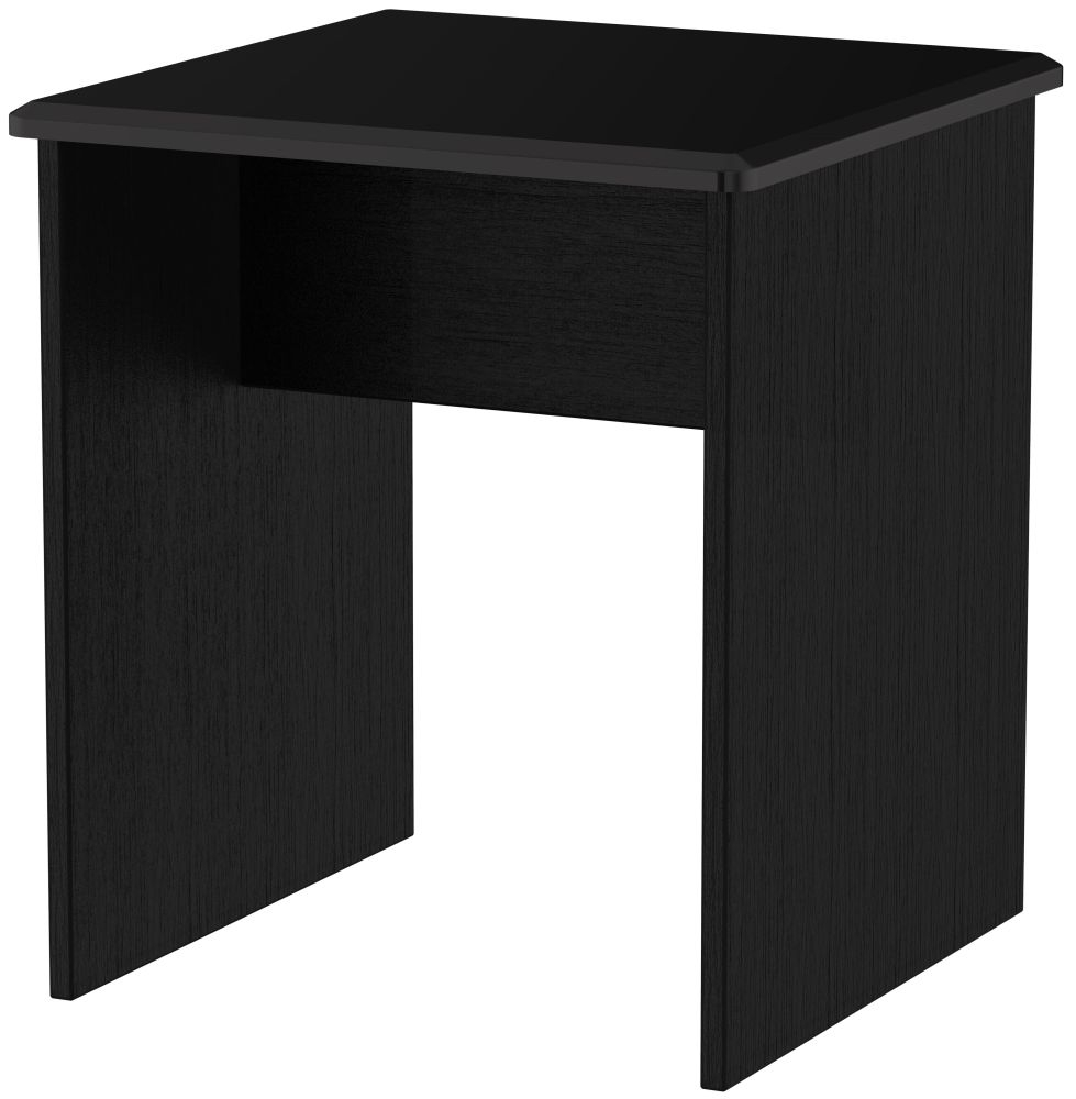 Clearance Half Price - Knightsbridge Black Lamp Table - New - D051