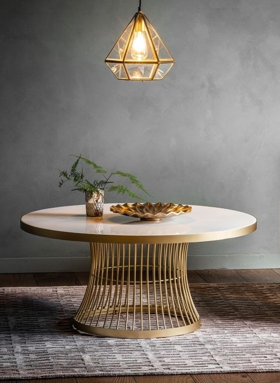 Clearance - Gallery Direct Pickford Coffee Table - Champagne - New - FS0022