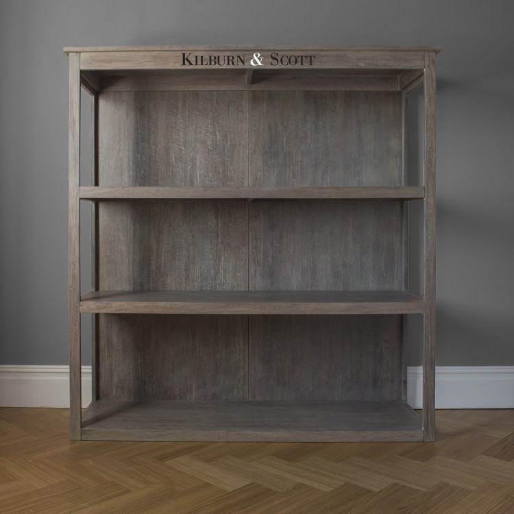 Clearance Half Price - Hudson Living Weathered Floor Standing Shelf Unit - New - 3051