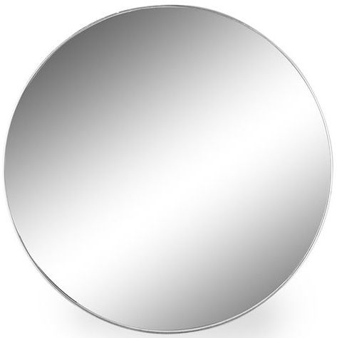 Clearance Half Price - Silver Framed Arden Round Extra Large Wall Mirror - 90.7cm x 90.7cm - New - 3035-B