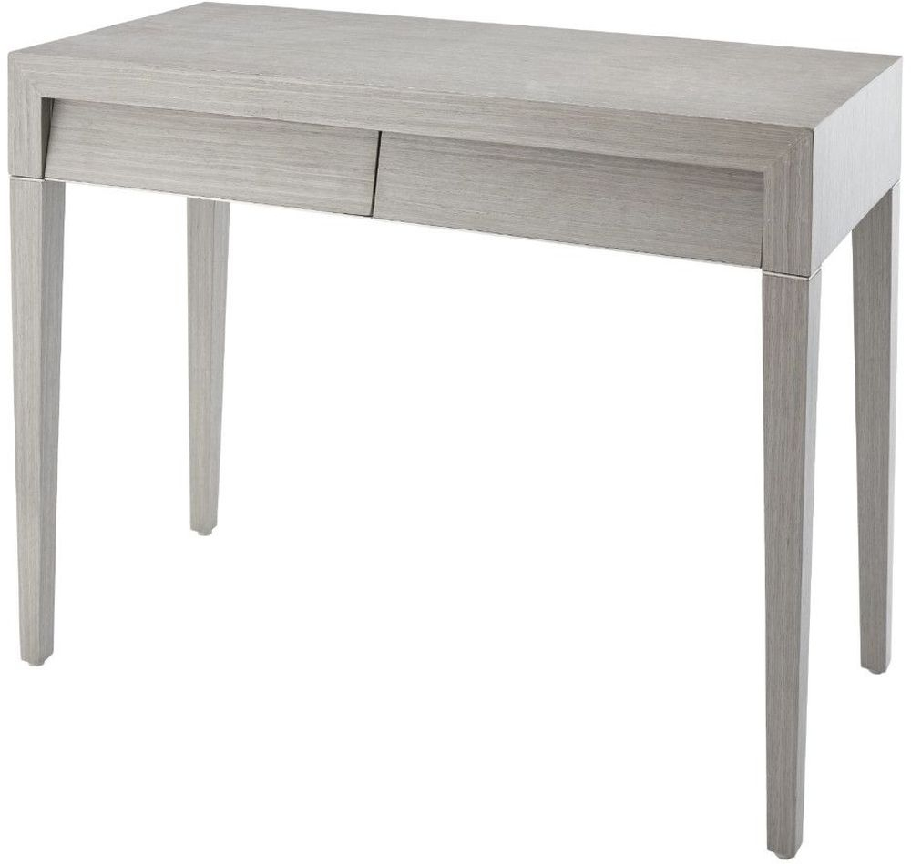 Clearance Half Price - RV Astley Radway Light Grey Console Table - New - 408