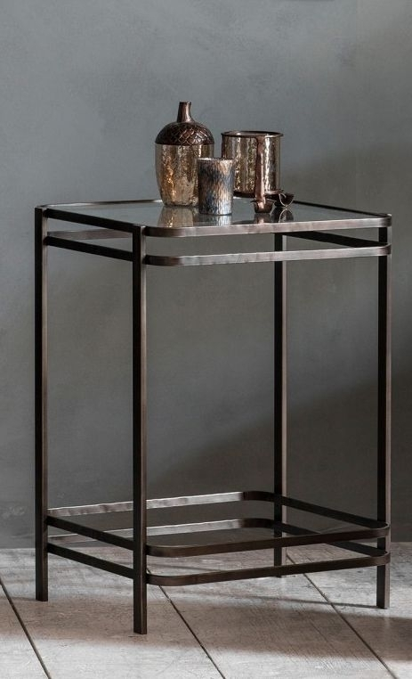Clearance Half Price - Gallery Direct Rousham Side Table - New - FS179