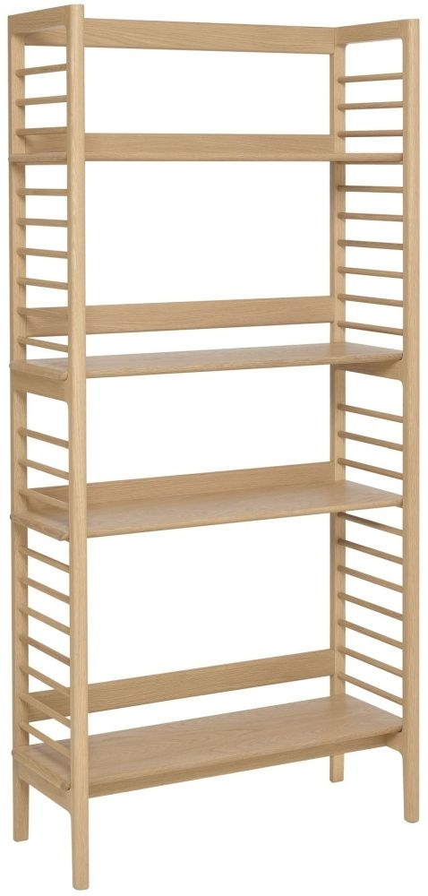 Clearance - Ercol Ballatta Oak Shelving Unit - New - 4032