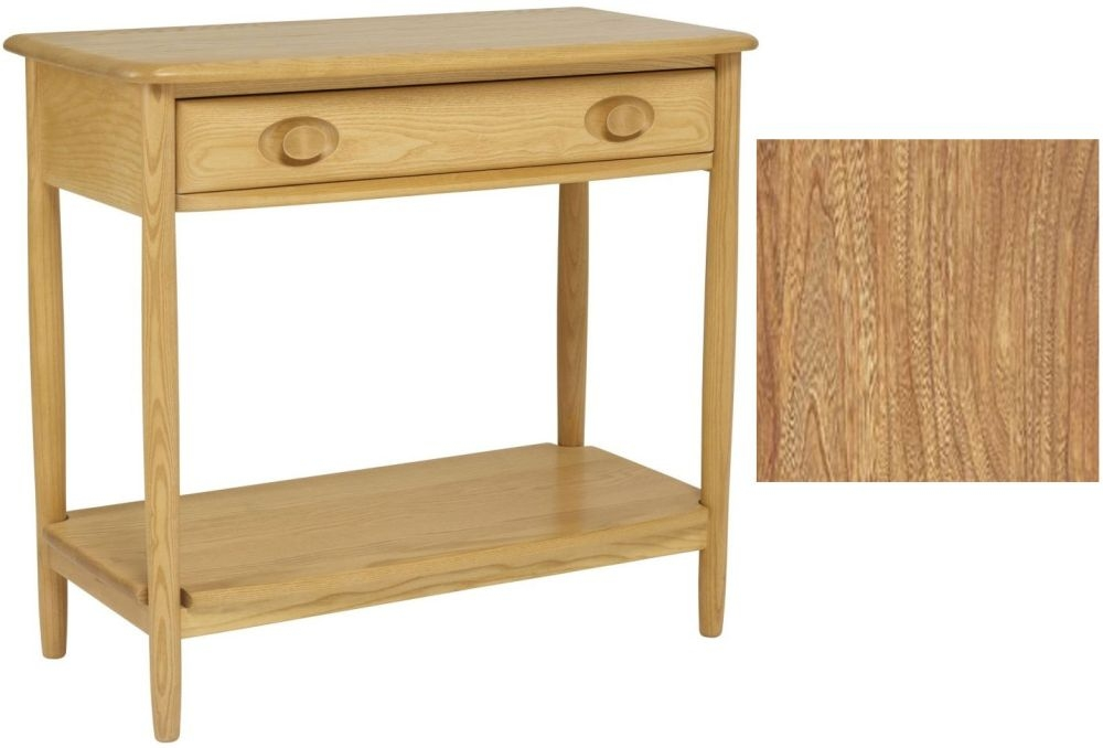 Clearance - Ercol Windsor Light Console Table - New - E17