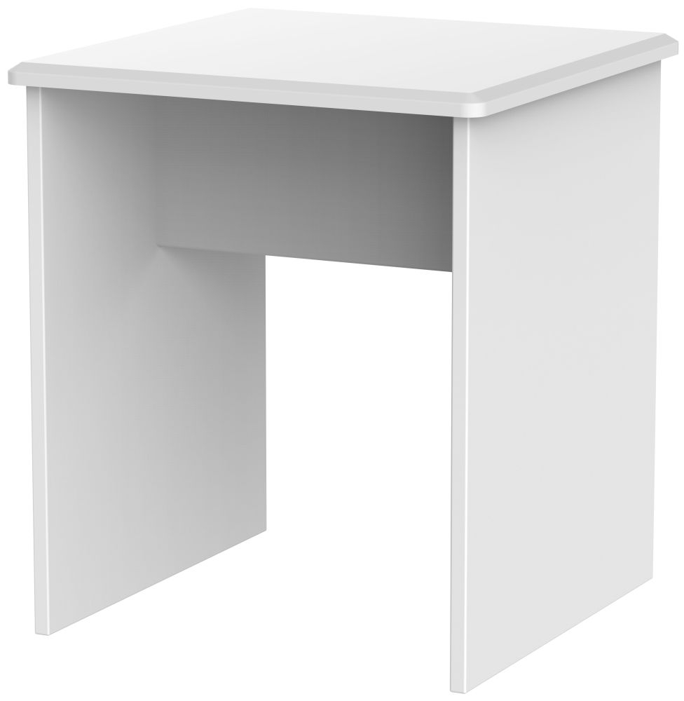 Clearance - Knightsbridge White Lamp Table - New - A-170