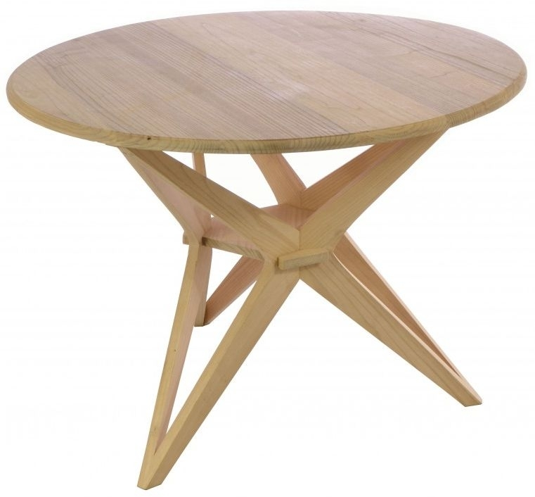 Clearance - Ancient Mariner Shoreditch Large Round Dining Table - New - FSS3299