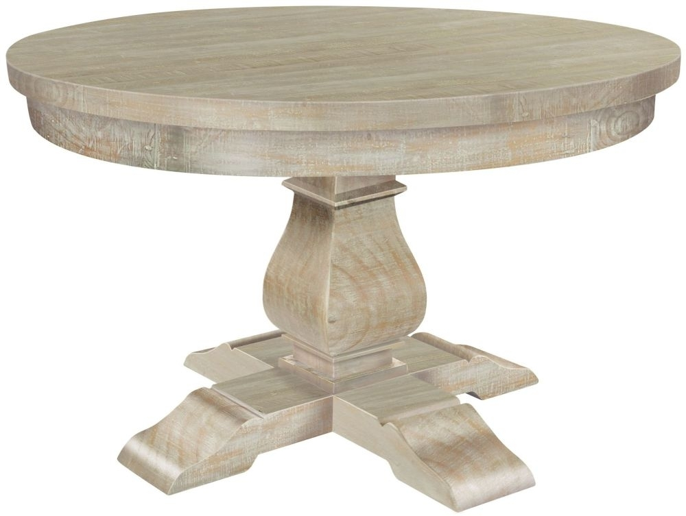 Clearance - Rowico Bowood Day Round Dining Table - New - E-621