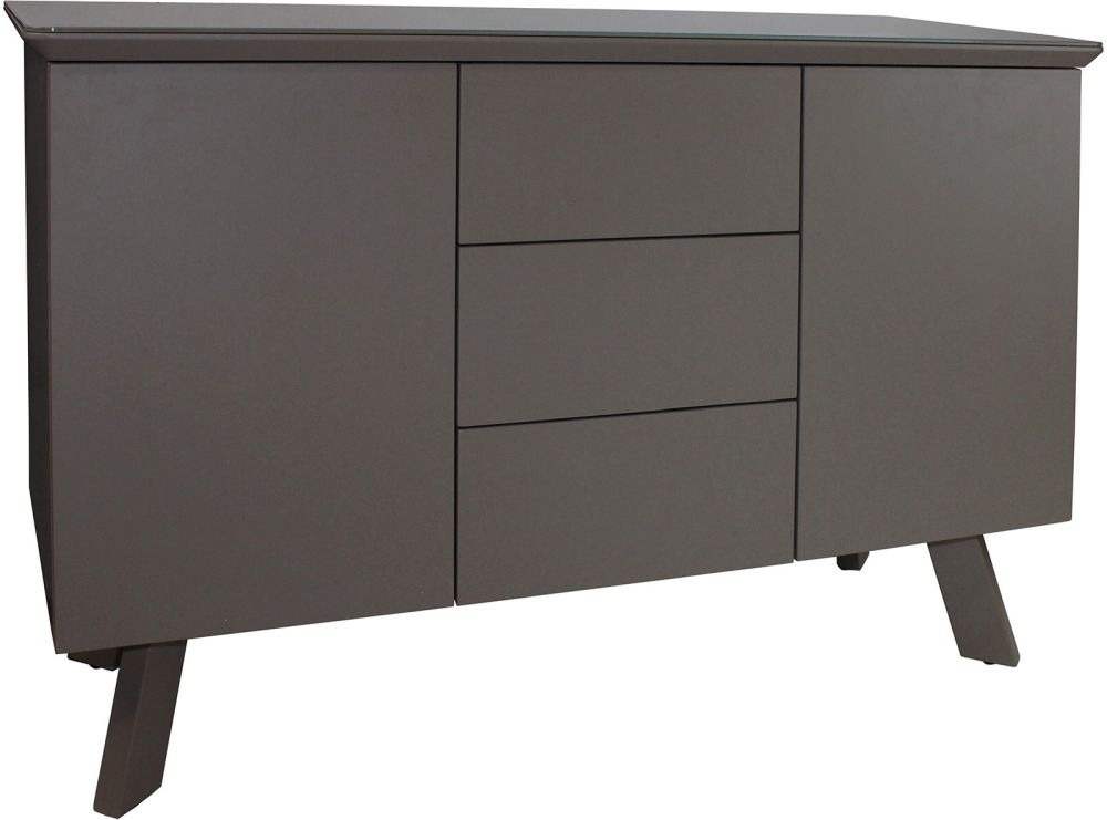 Clearance - Flux Grey Small Sideboard - New - E-711