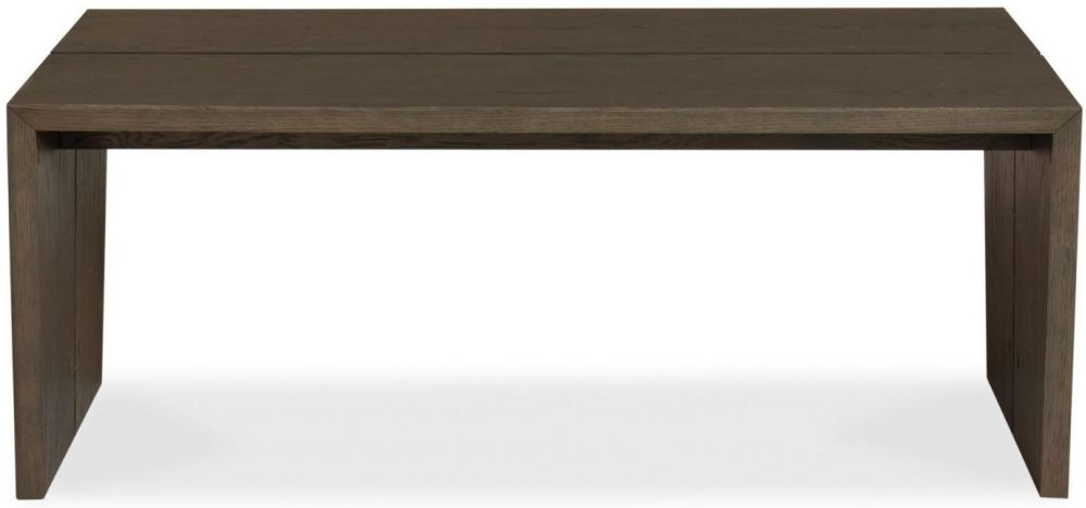 Clearance Half Price - Bentley Designs City Weathered Oak Coffee Table - Panel - New - 3051
