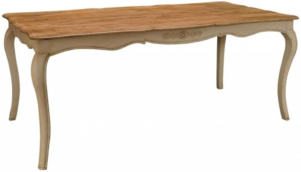Clearance Half Price - Amberly Painted 171cm Rectangular Dining Table - New - GR67