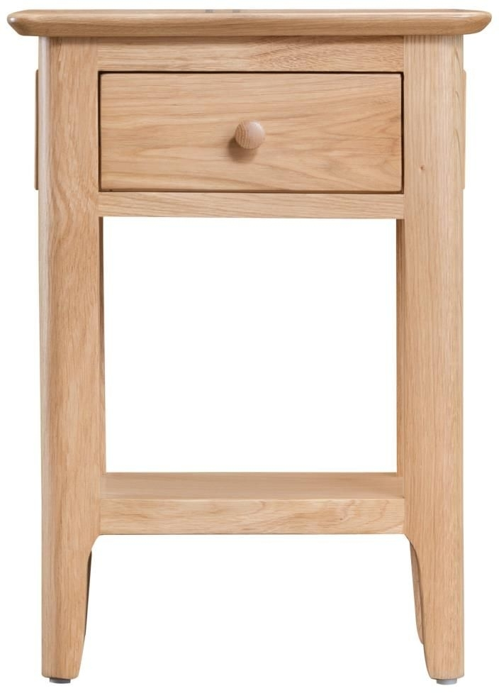 Clearance Half Price - Appleby Oak Side Table - New - T102