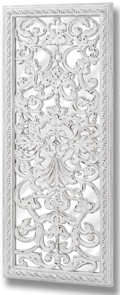 Clearance Half Price - Baroque Mirror with Ornate Front Detail - New - T065