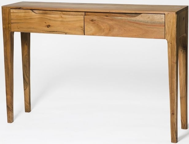 Clearance Half Price - Byron Acacia Wood Console Table - New - T096