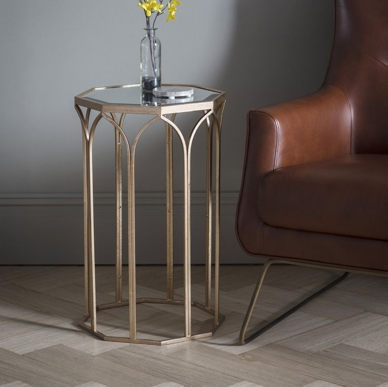 Clearance Half Price - Gallery Direct Canterbury Side Table - New - T101