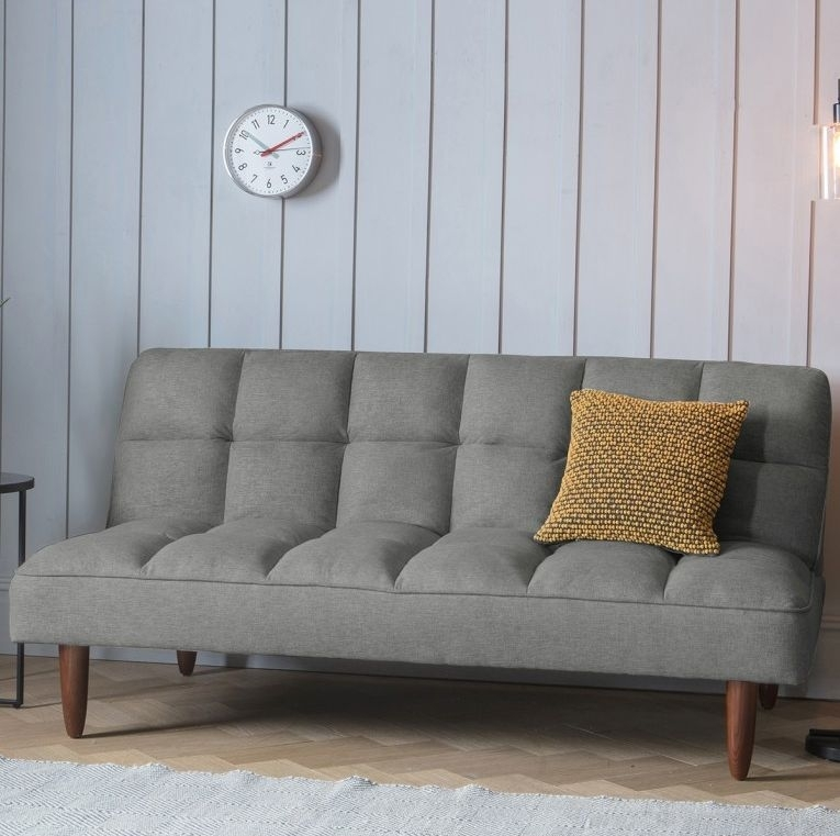 Clearance - Gallery Direct Oslo Sofabed Frost Grey - New - D208