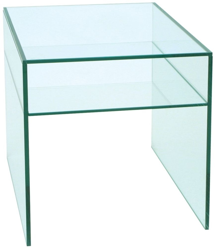 Clearance Half Price - Greenapple Pure Glass Lamp Table 59262 - New - T024