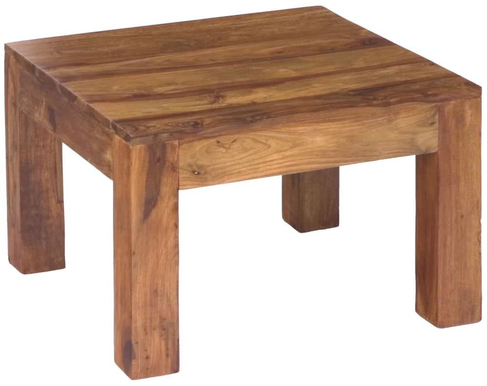 Clearance Half Price - Jaipur Cube Sheesham Side Table - New - T109