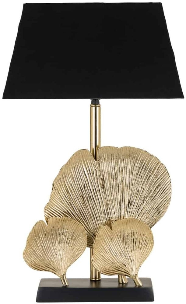 Clearance Half Price - Madey Table Lamp with Black Shade - New - SL5