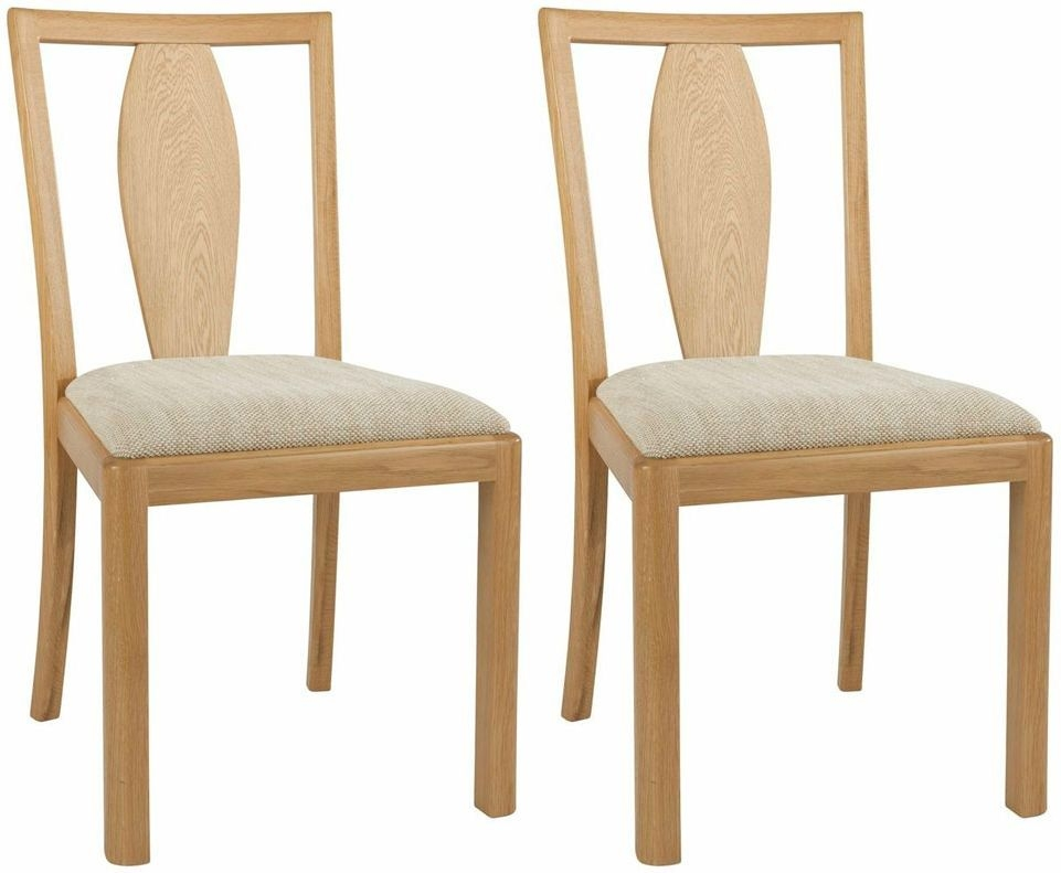 Clearance Half Price - Maison Stockholm Wooden Back Dining Chair (Pair) - New - T050
