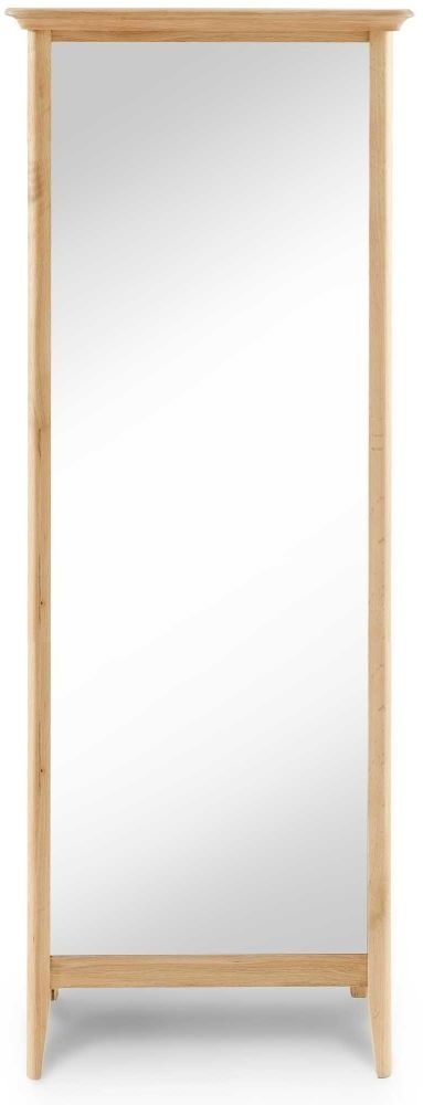 Clearance Half Price - Willis and Gambier Spirit Oak Rectangular Cheval Mirror - New - GR54