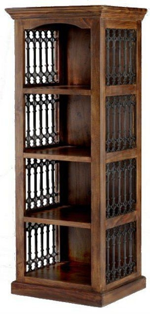 Clearance Jali Sheesham Alcove Bookcase -A135