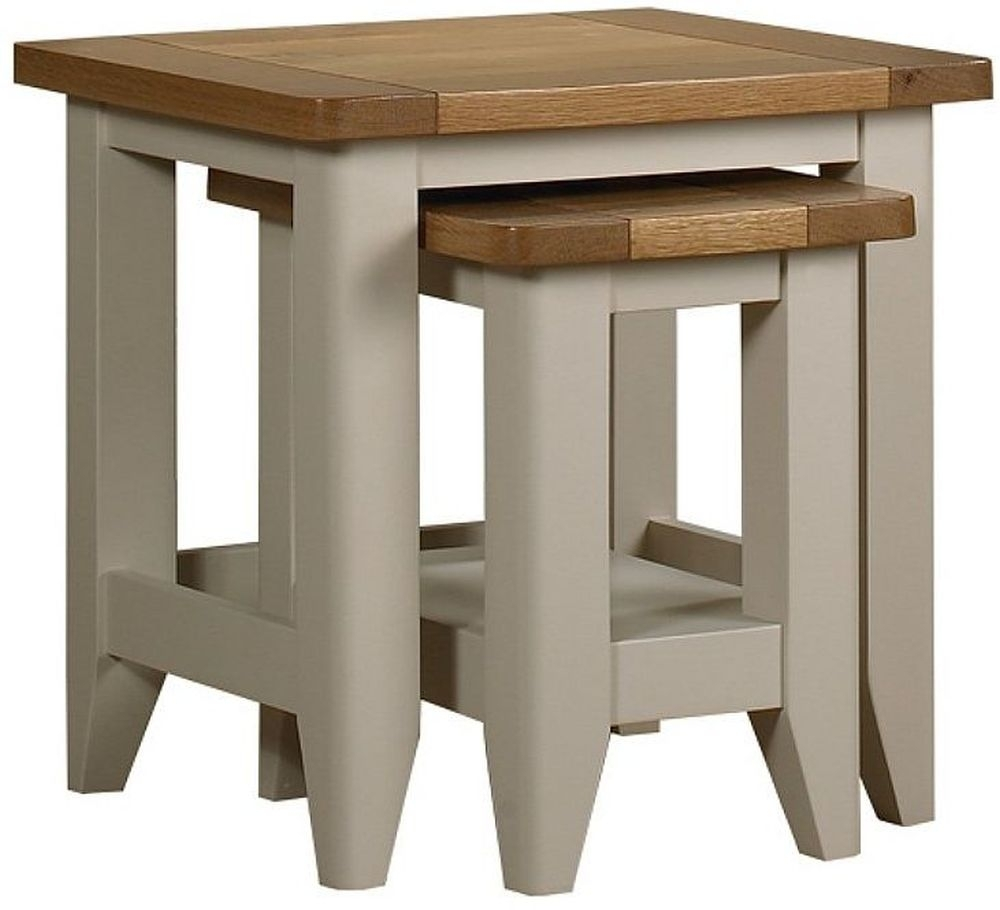 Mark Webster Padstow Painted Nest of Table - CL-2147