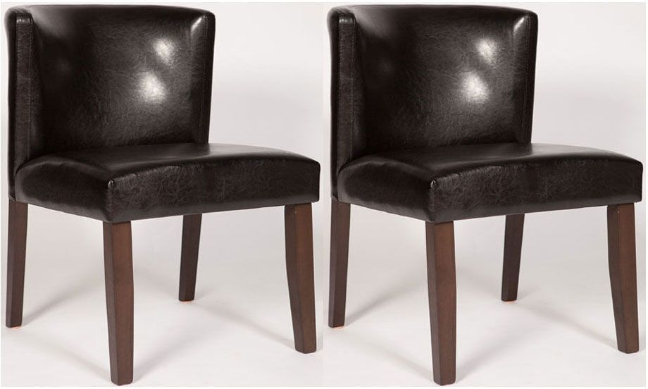 Clearance Half Price - Nevada Walnut Dining Chair (Pair) - New - A188