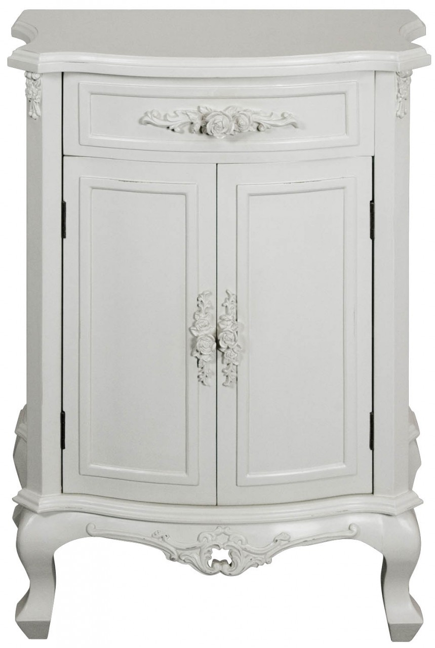 Clearance Rose Cupboard - 2 Doors 1 Drawers - 2034