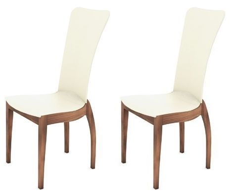Clearance Tom Schneider Sasha Cherry Blush Dining Chair (Pair) - W105