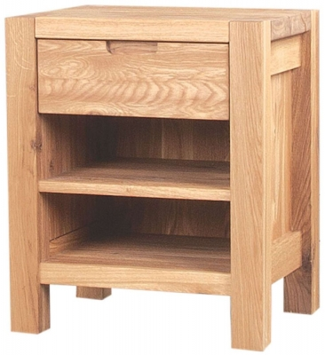 Clemence Richard Forest Oak Bedside Cabinet