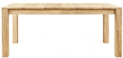 Clemence Richard Lyon 135cm Oak Dining Table with 50cm Leaf