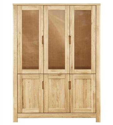 Clemence Richard Lyon Oak 3 Door Cupboard