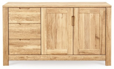 buy bentley designs turner oak sideboard narrow online cfs uk. Black Bedroom Furniture Sets. Home Design Ideas