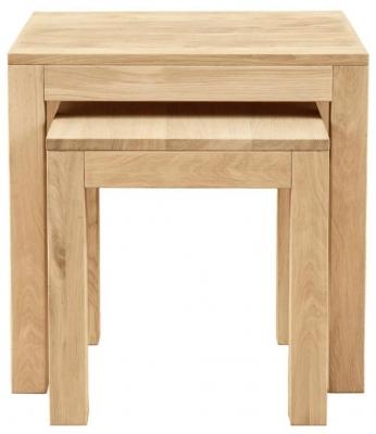 Clemence Richard Lyon Oak Nest of Tables