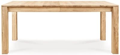 Clemence Richard Lyon Oak Rectangular Extending Dining Table - 150cm-240cm