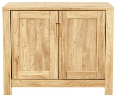 Clemence Richard Lyon Oak Small 2 Door Sideboard