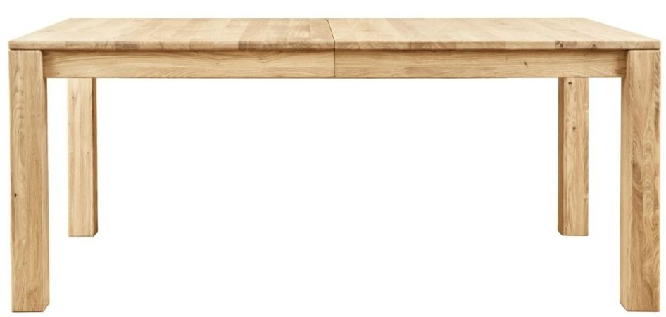 Clemence Richard Lyon Oak Rectangular Extending Dining Table - 135cm-235cm