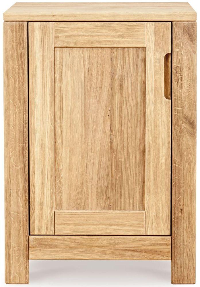 Clemence Richard Lyon Oak 1 Door Cabinet